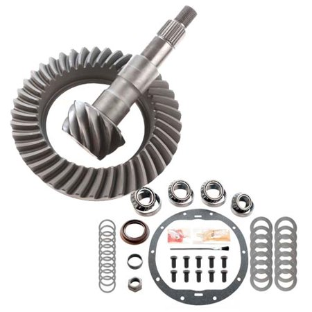 RICHMOND EXCEL 4.10 RING AND PINION & MASTER INSTALL KIT - GM 8.6 10 BOLT (Gm 10 Bolt Ring Pinion)