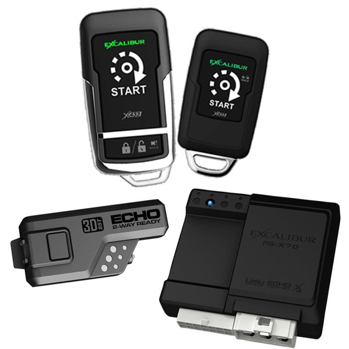 Excalibur 900MHz 1+1 Button Remote Start (Linkr Ready)w/Blade