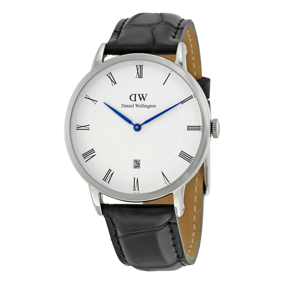 Daniel Wellington Dapper Reading White Dial Mens Watch DW00100108