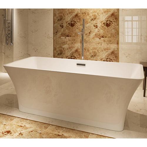 Kardiel HelixBath Parva 59'' x 29.5'' Soaking Bathtub