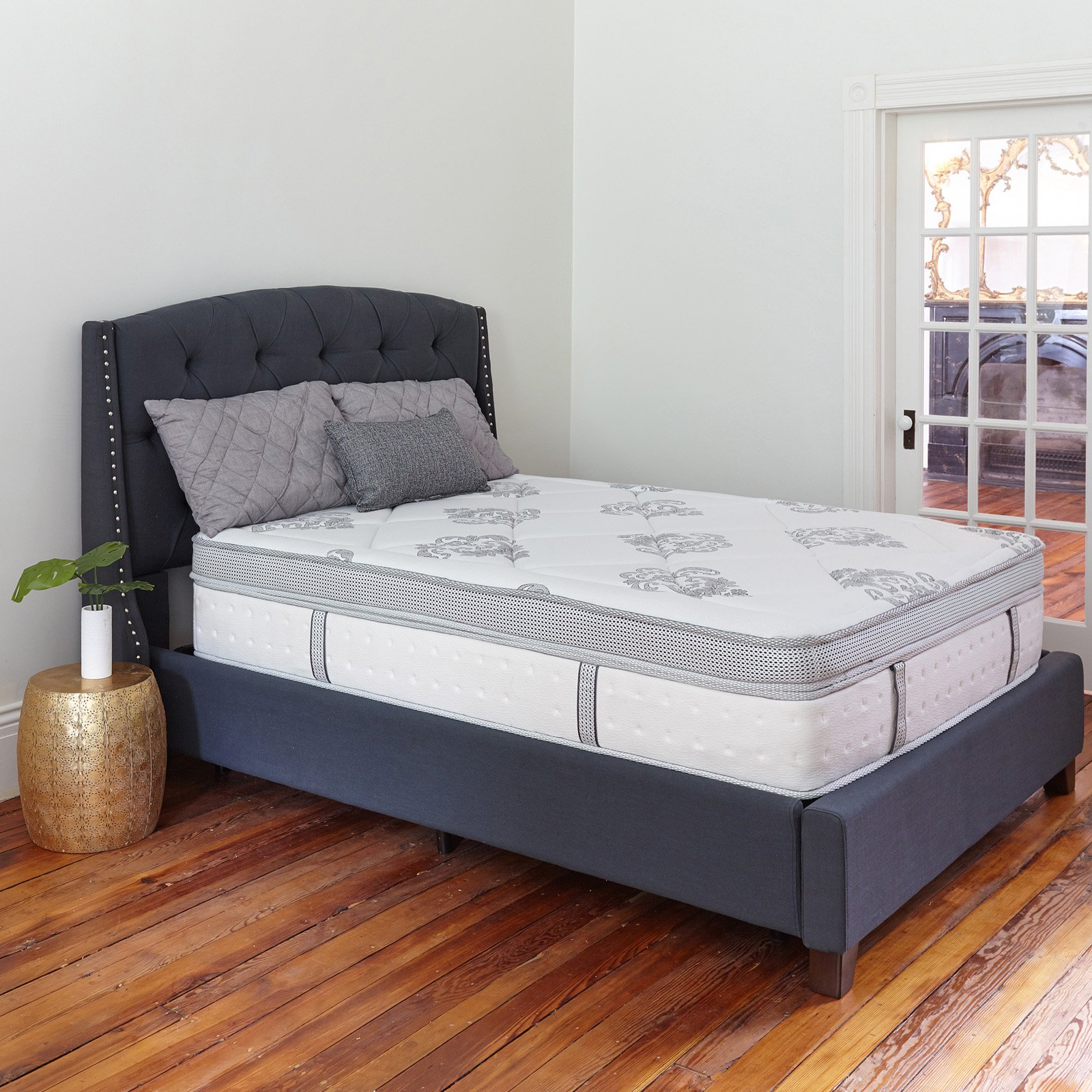 Classic Brands Gramercy 14 in. Hybrid Cool Gel Memory Foam and Innerspring Mattress