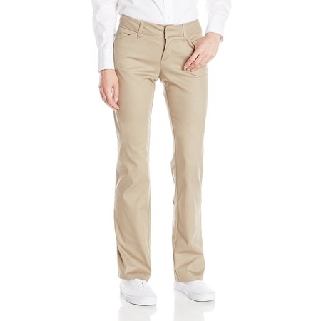 Dickies Girl Junior's 4 Pocket College Bootleg Pant