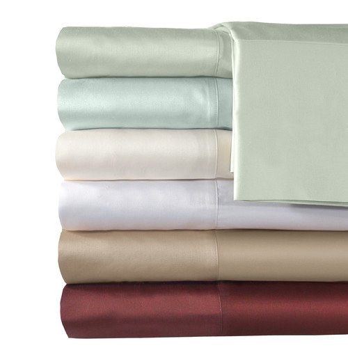 Veratex, Inc. 500 Thread Count Supreme Sateen Solid Sheet Set