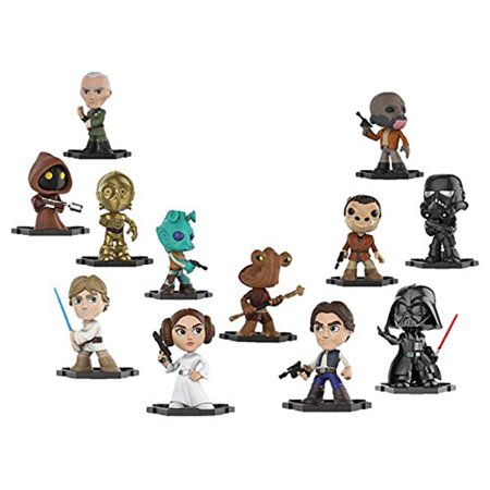 Funko Mystery Mini: Star Wars - 12 Pack Bundle Action (12 Star Wars Action Figures)