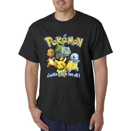 Allwitty 1118 - Unisex T-Shirt Pokemon Go Gotta Catch 'Em All ()
