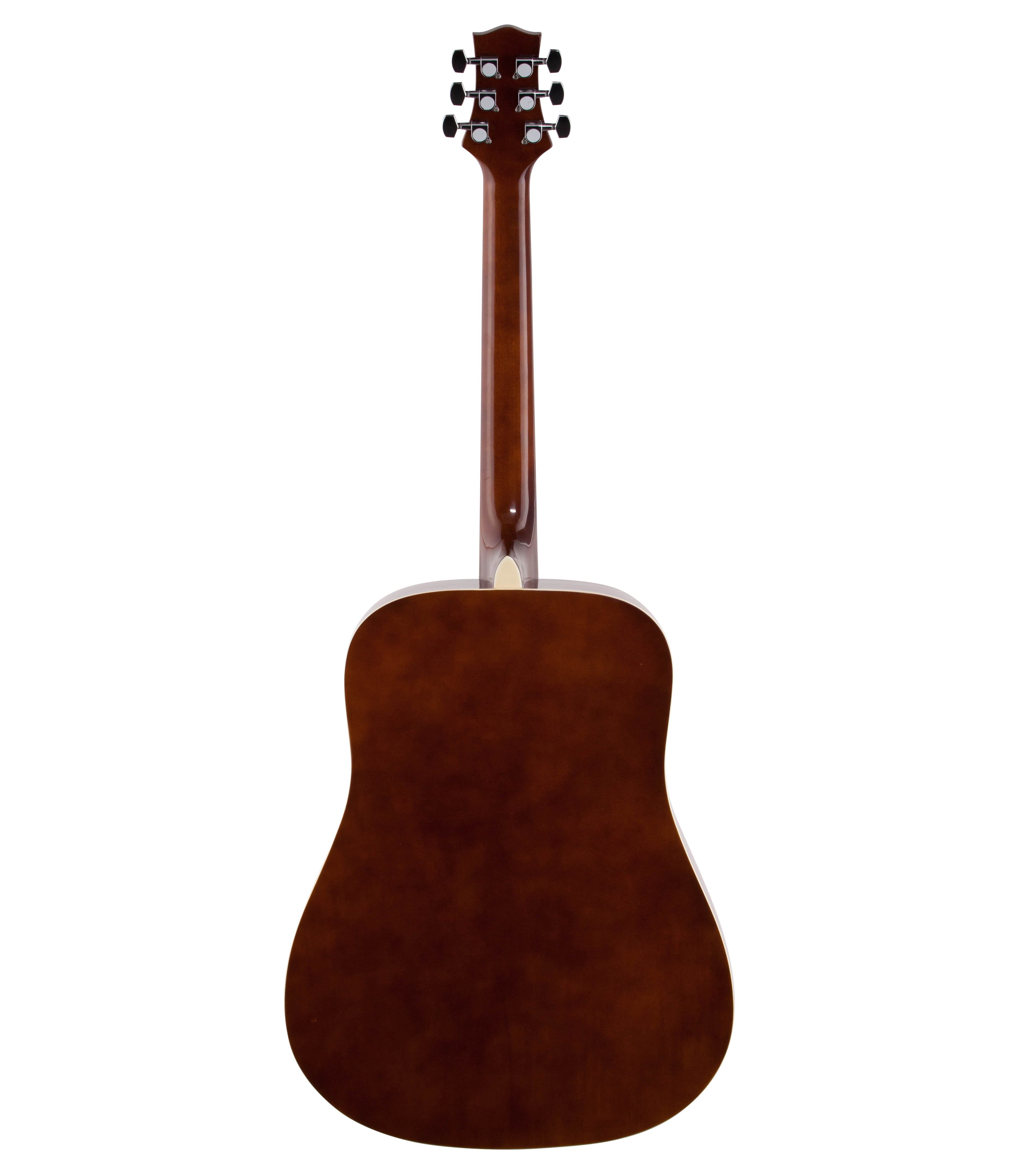 Silvertone Sd3000 Natural Acoustic Guitar Package With Tuner Gig