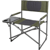 Ozark Trail Oversized Director Chair with Side Table, Green