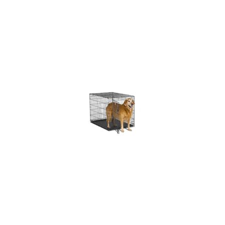Contour Single Door Dog Crate , PartNo 842, by Midwest Container, Size 42X28X30,