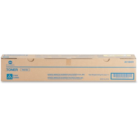 - Konica Minolta Toner Cartridge f/220/280 26 000 Page Yield Cyan TN216C