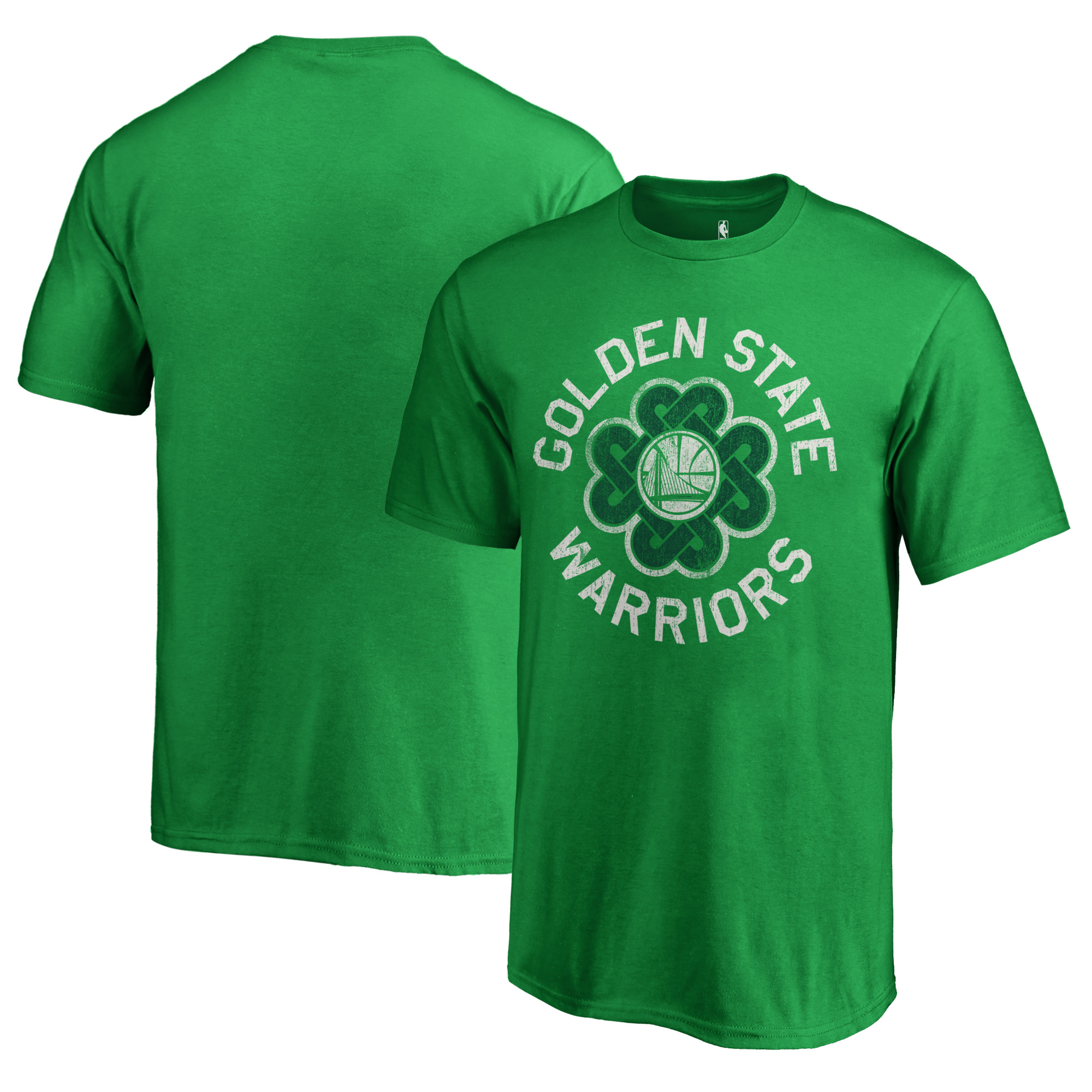 Golden State Warriors Fanatics Branded Youth St. Patrick's Day Luck Tradition T-Shirt - Kelly Green
