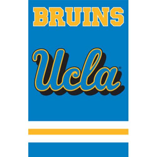 """UCLA BRUINS 44""""x28"""" 2-SIDED BANNER FLAG"""
