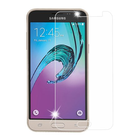 Insten Clear Tempered Glass LCD Screen Protector Film Cover For Samsung Galaxy Amp Prime / Express Prime / Sky /