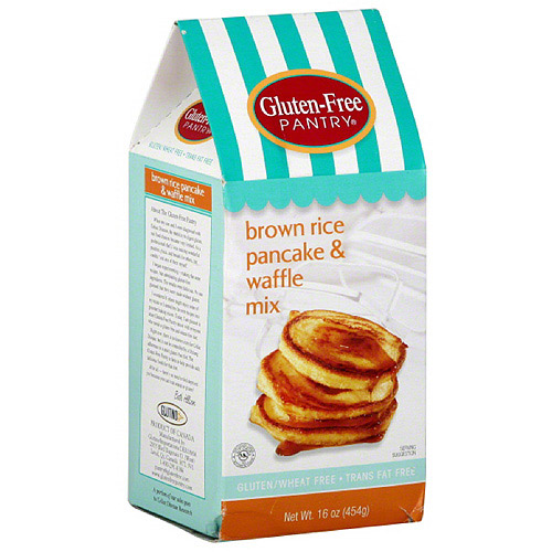 Gluten-Free Pantry Brown Rice Pancake & Waffle Mix, 16 oz, (Pack of 6)