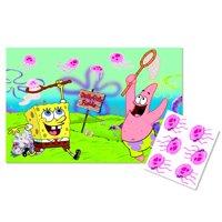 Spongebob Squarepants 'Jellyfishing' Party Game Poster (1ct)