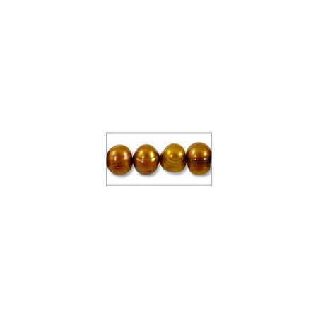Freshwater Potato Pearls Aztec Gold 5-6mm (16