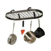 Enclume USA Handcrafted Gourmet Low Ceiling Oval Pot Rack