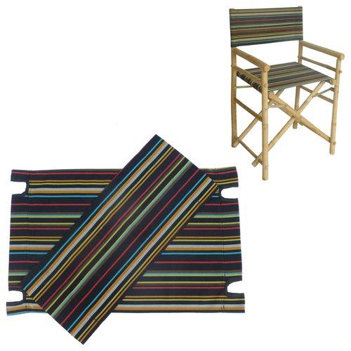 Bay Isle Home Rizokarpaso Canvas for Bamboo Director Chair