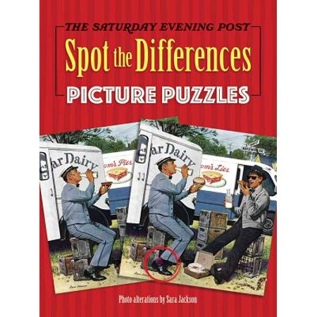 The Saturday Evening Post Spot the Differences Picture (Saturday Evening Post Artist)