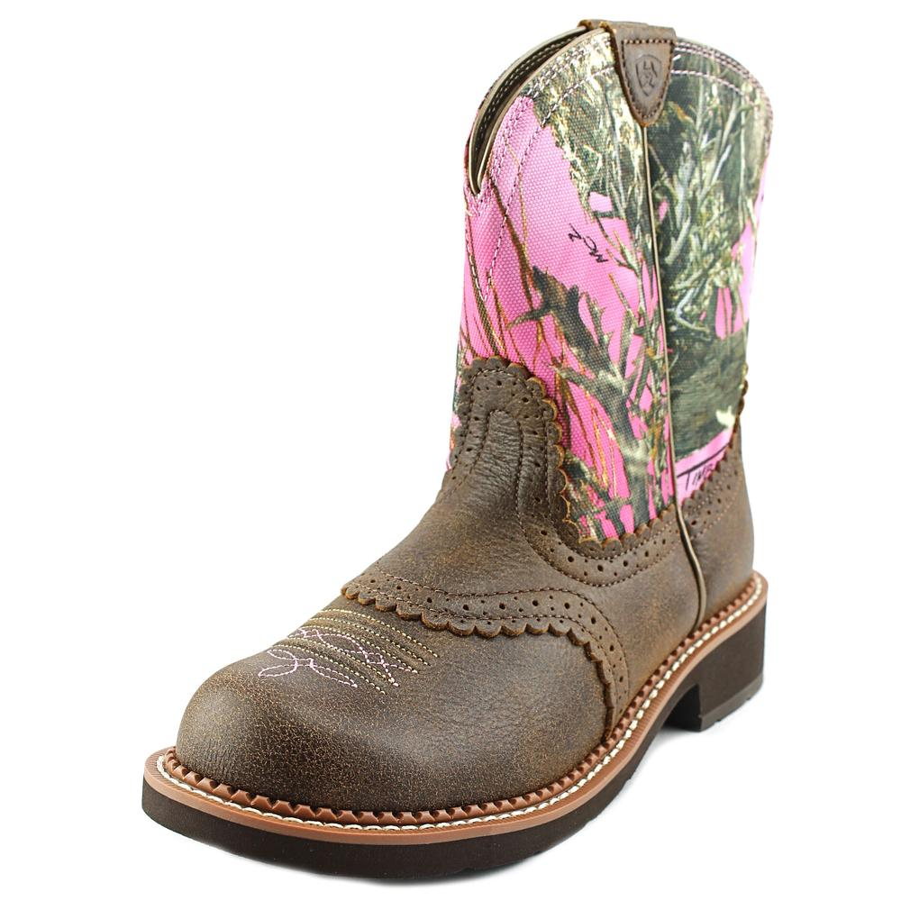 Ariat Fatbaby Heritage Collection Round Toe Leather Western Boot by Ariat