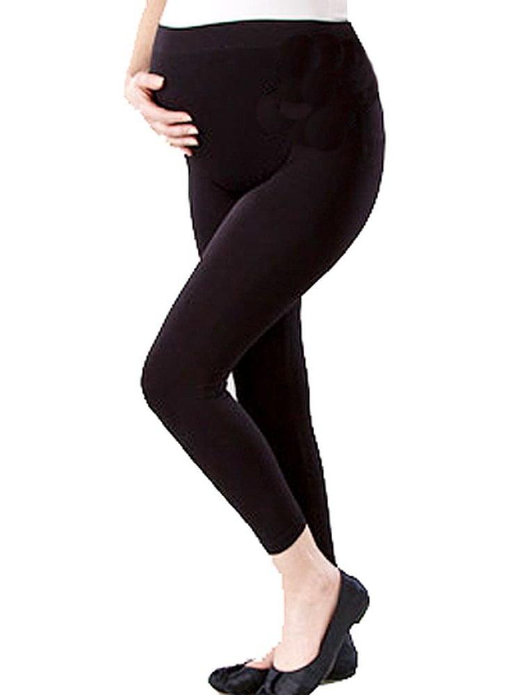 Love My Belly Women 1 Size Black Shape Me Up Maternity Leggings