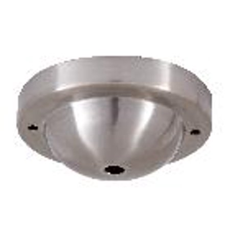 B&P Lamp Satin Nickel Canopy & hardware kit with matching finish