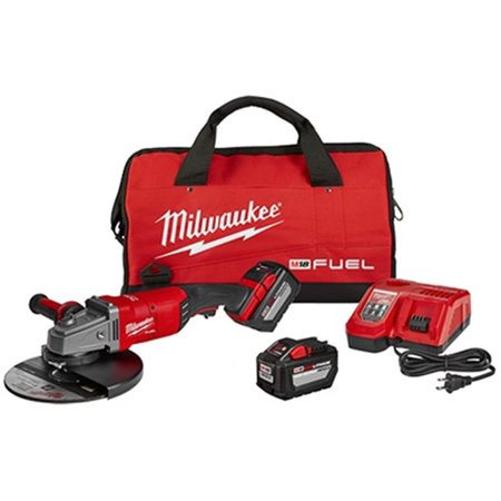 Milwaukee Electric Tools 495-2785-22HD 7 & 9 in. M18 Fuel Large Angle Grinder 2 Battery Kit - image 1 de 1