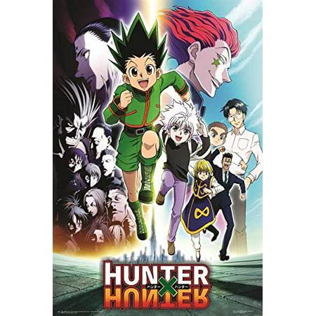 Hunter x hunter anime vibe
