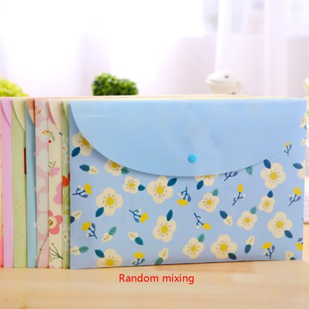 Canvas File Bag (2pcs A4 PVC Waterproof File Envelope Storage Bags Organizer)