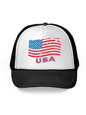 a572aa296153b Product Image Awkward Styles USA Flag Hat American Trucker Hats for Women  Men 4th of July Party American