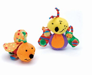 Calico Bug Cat Toy   Assorted Styles; Bee & Fly by