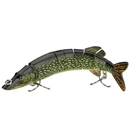 3D Fishing Lure - W/ Lifelike Swimming Action Specially For Pike And