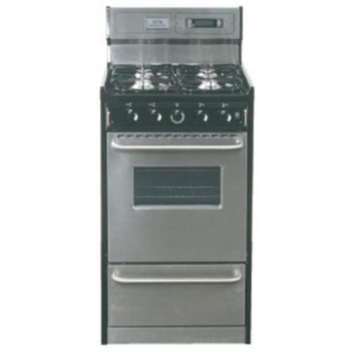 Summit Appliances Tnm13027bfkwy 20 Inch Gas Range With