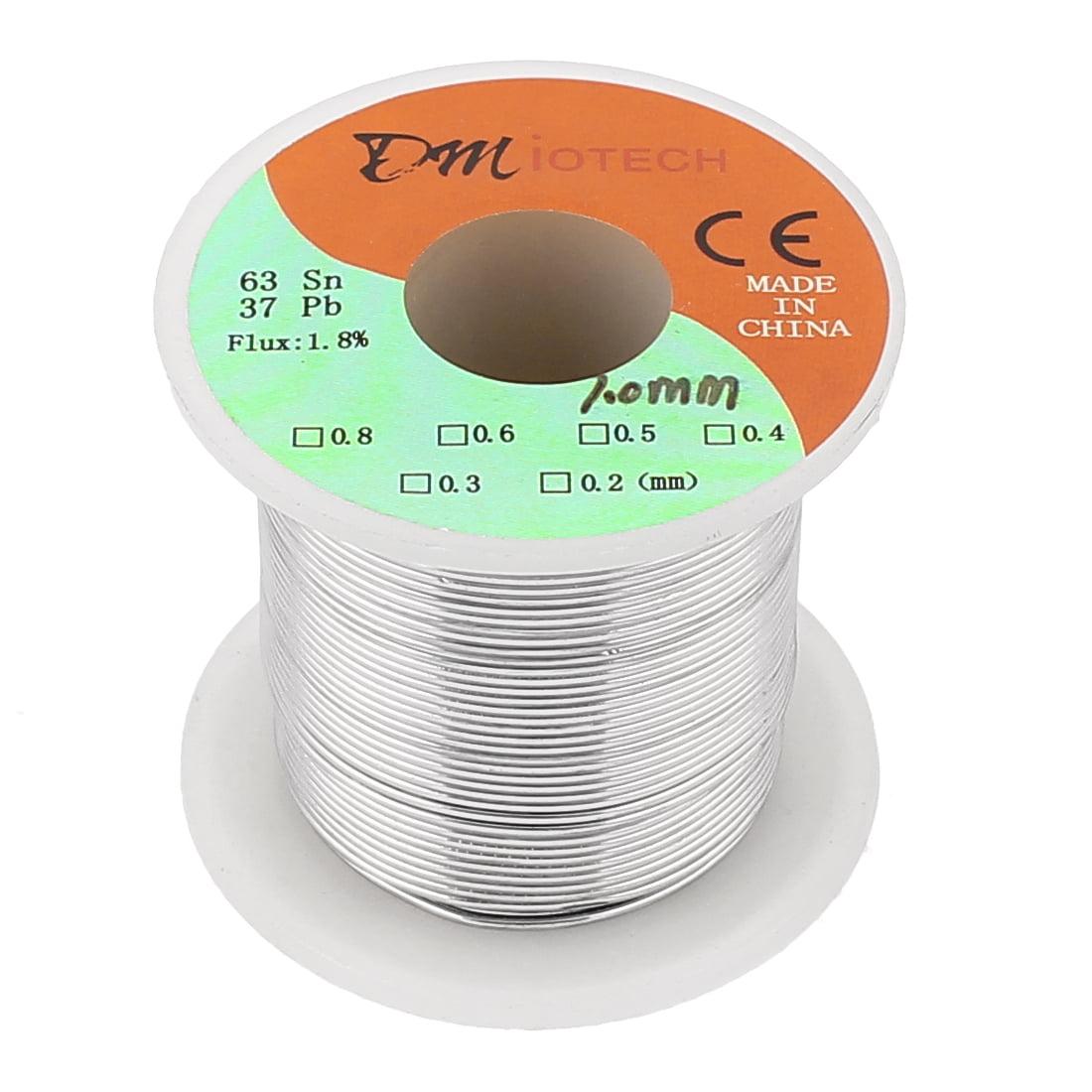 Soldering Flux Tin Lead Solder Wire Spool 1.0mm Dia Xmbxq