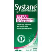 Systane Ultra Dry Eye Care Symptom Relief Eye Drops, 10 ml