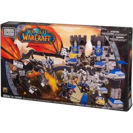 Mega Bloks World of Warcraft Deathwing's Stormwind Assault Play (Republic Assault Ship)