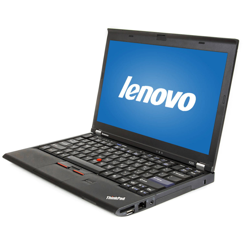 "Refurbished Lenovo Black 12.5"" ThinkPad X220 WA5-1008 Laptop PC with Intel Core i5-2410M Processor, 4GB Memory, 320GB Hard Drive and Windows 10 Home"