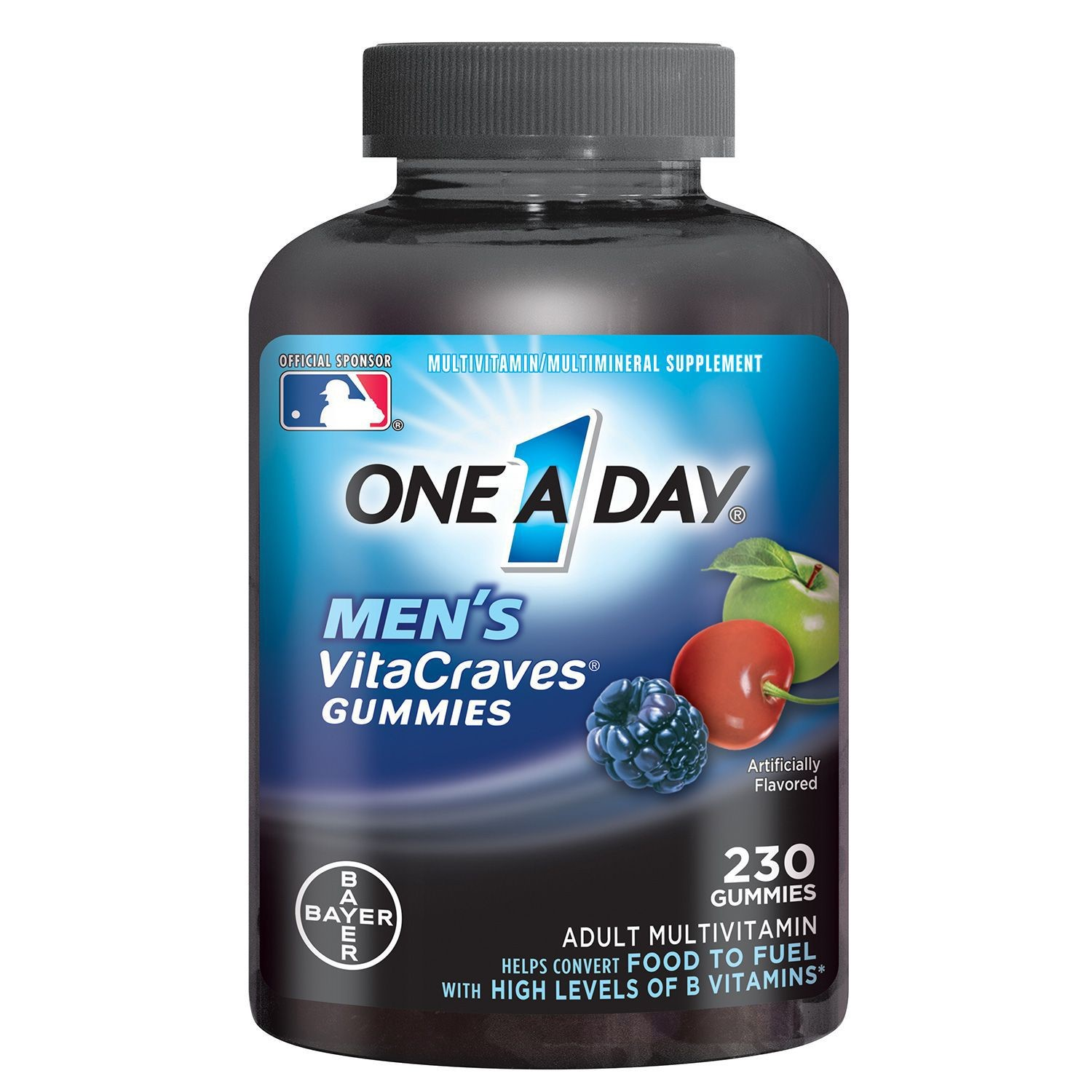 One A Day Men's Vitacraves Multivitamin Gummies, 230 Ct
