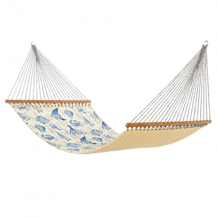 Sea Life Marine Large Quilted Hammock Made In Usa With Reversible Sunbrella Fabric