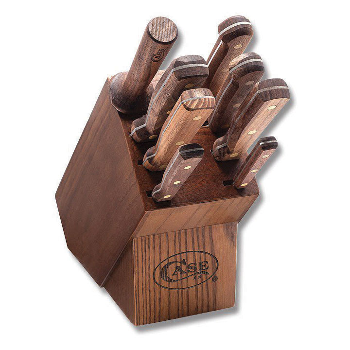 CASE 9 Piece Household Cutlery Block and Knife Set by Case
