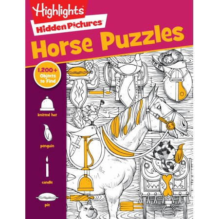 Horse Games And Puzzles (HORSE PUZZLES)