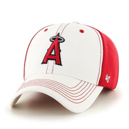 Los Angeles Angels 47 Brand Mlb  Cooler Mvp  Structured Adjustable 2 Tone Hat