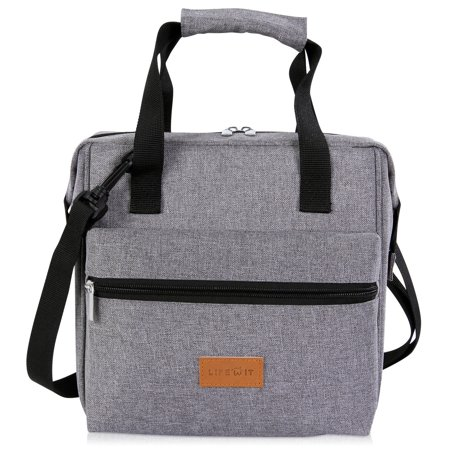 Lifewit 10L Insulated Lunch Box 3-Way Carrying Thermal Bento Bag Picnic Office