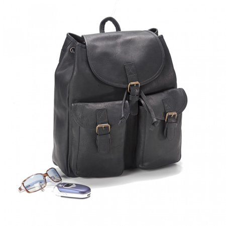 Clava Drawstring Leather Backpack - Walmart.com