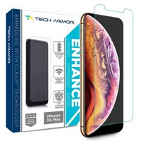 Tech Armor Apple iPhone Xs Max Enhance Radiation Blocking Screen Protector [1-Pack] Case-Friendly, Scratch Resistant, 3D Touch Accurate Designed for New 2018 Apple iPhone Xs MAX