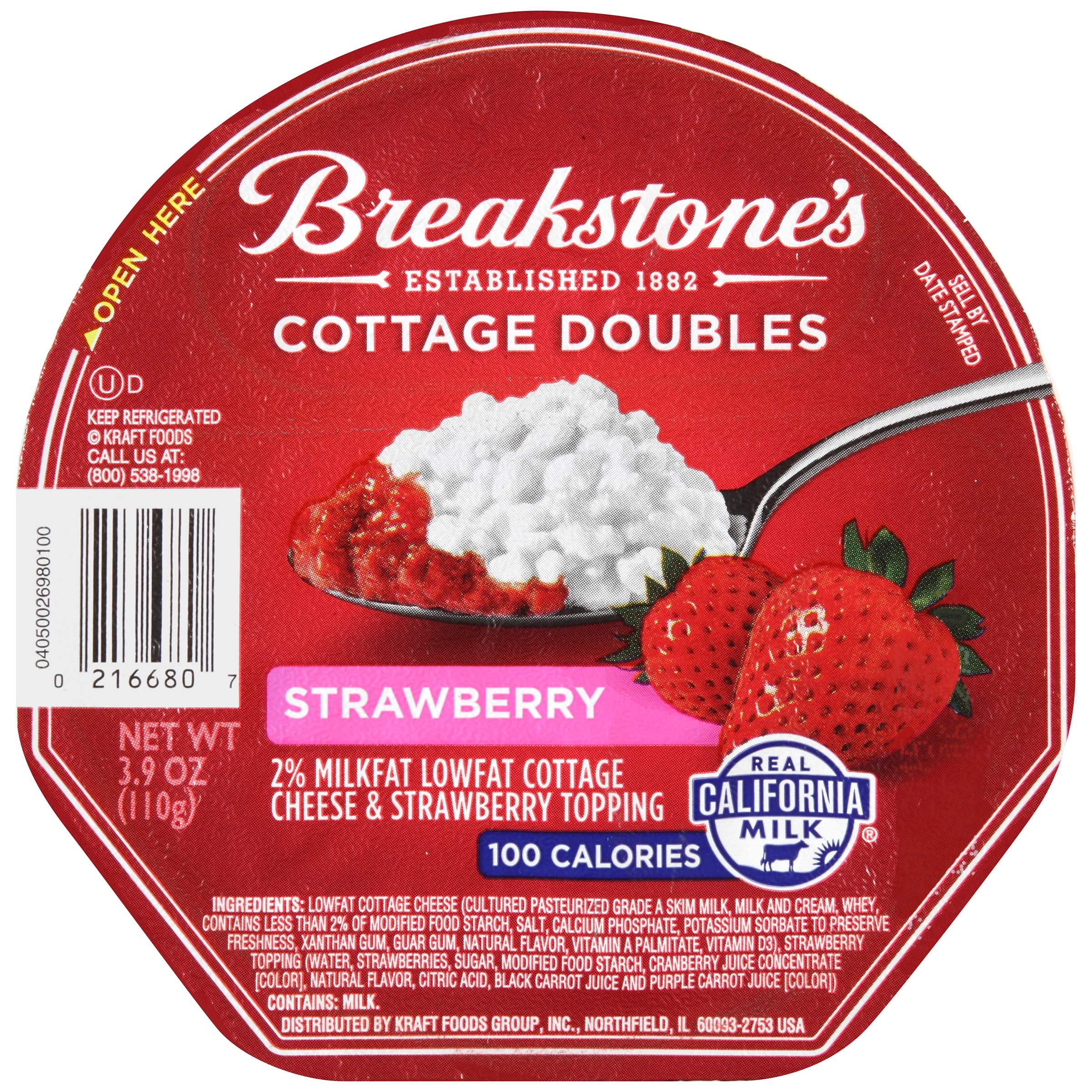 100-Calorie Cottage Cheese Doubles