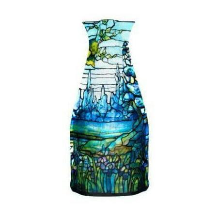 Modgy Myvaz Collapsible Expandable Flower Vase Tiffany Iris