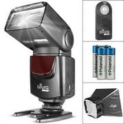 Altura Photo AP-UNV1 Bundle – DSLR Camera Flash Speedlite for Canon Nikon Sony