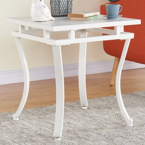 Ivy Bronx Fanimation Square End Table by