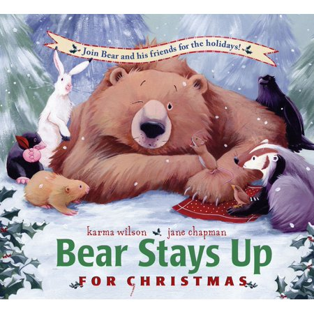 Bear Stays Up for Christmas (Bear Inthe Big Blue House Listen Up)