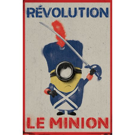 - Minions - The Movie - Movie Poster / Print (Revolution Le Minion) (Size: 24